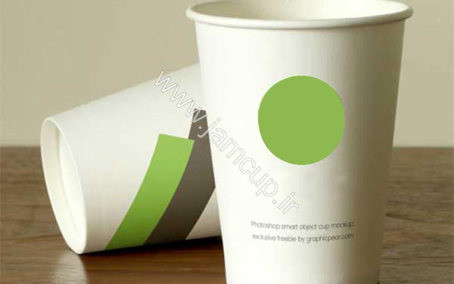 لیوان کاغذی دمنوش دار