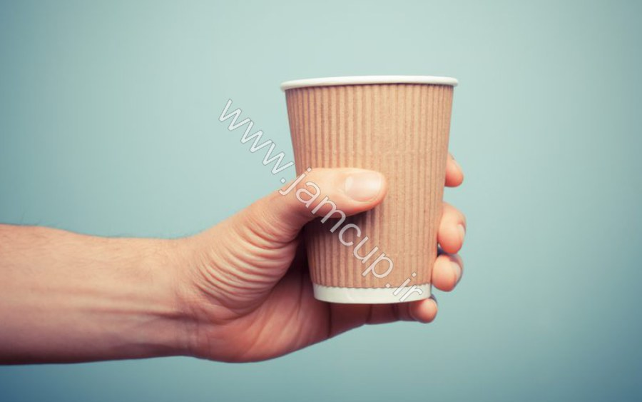 لیوان کاغذی کرکره ای