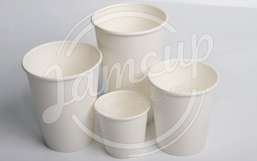 سایز های لیوان کاغذی