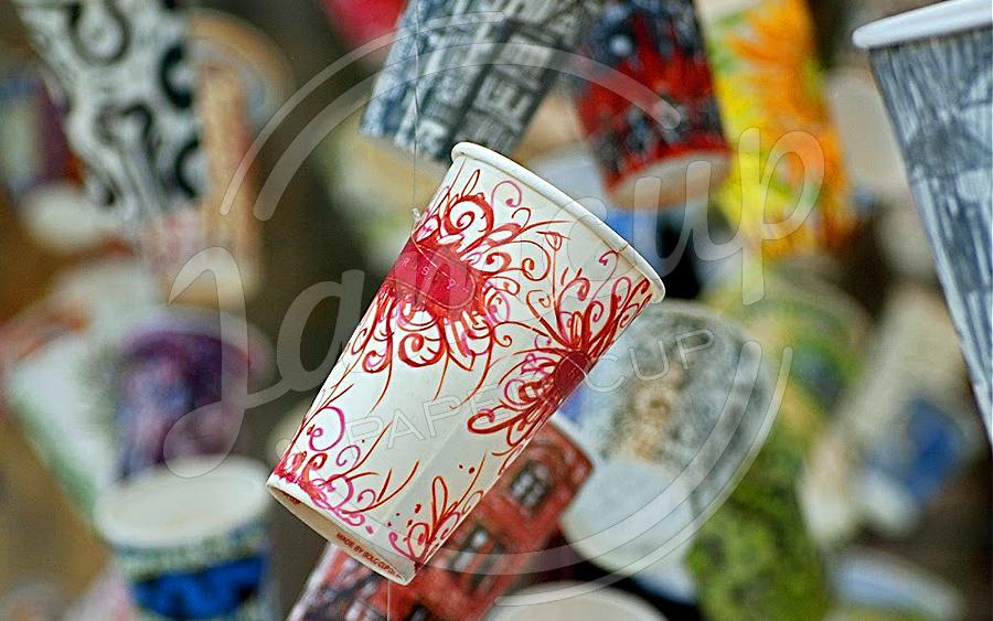 لیوان کاغذی نمایشگاهی