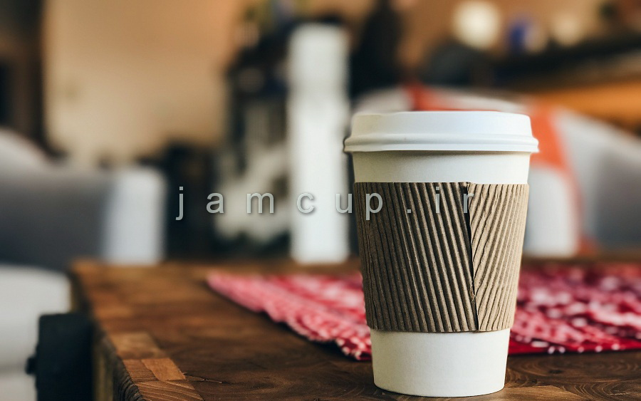 ماگ بیرون بر قهوه